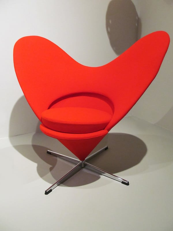 Fauteuil Heart and Cone Chair - Verner Panton