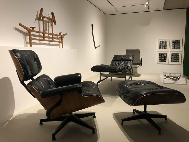 Une star du fauteuil design : le Lounge - Charles et Ray Eames
